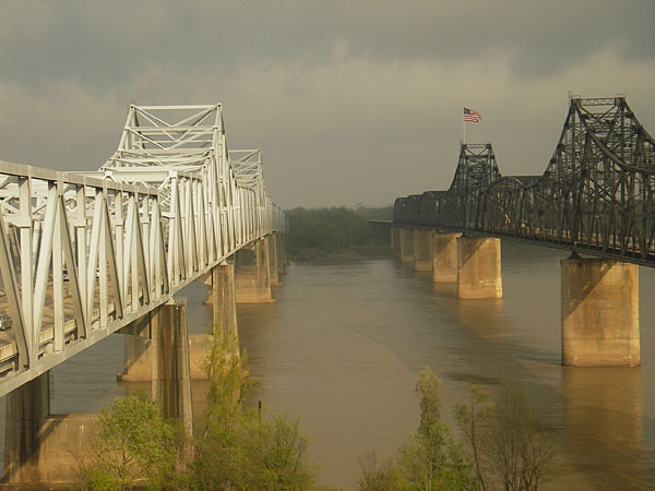 Mississipi River at Vicksburg