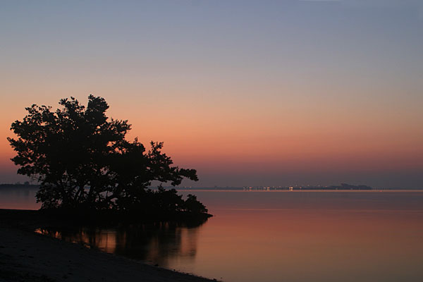 Before Sunrise at Sanibel Bridge